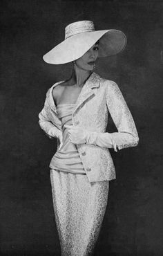 Christian Dior ~ 1955 When ladies dressed like ladies not hookers