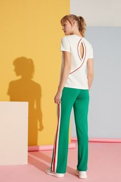 Gizia offers all the variations of women's high fashion and trends. High Fashion, Capri Pants, Pajama Pants, Women Wear, Pajamas, Jumpsuit, Spring Summer, Seasons, Collections