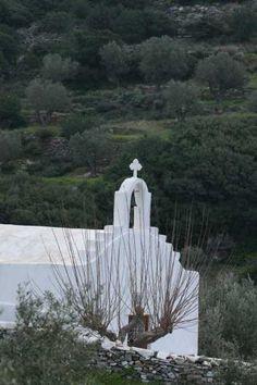 Church meets nature, #Paros, #Greece, #Nature
