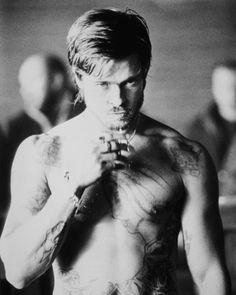 Brad Pitt , Fight Club.