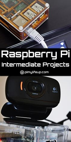 Raspberry Pi Intermediate Projects Not all projects for the Pi is easy, a lot of the more complicated projects require coding skills and good knowledge of commands for the terminal. These projects ten Iot Projects, Robotics Projects, Computer Projects, Arduino Projects, Pi Computer, Kids Electronics, Electronics Projects, Cool Raspberry Pi Projects, Raspberry Pi Ideas