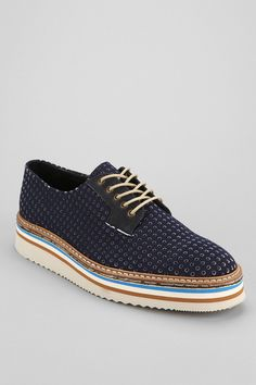 SWEAR Lou 7 Perforated Oxford Shoe - Urban Outfitters