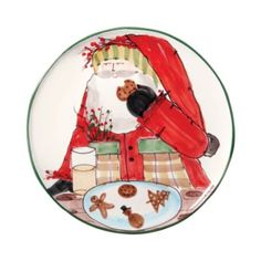VIETRI Old St. Nick Cookie Platter | Bloomingdale's