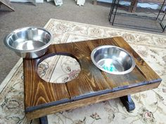 Oak Creek, Perfectly Imperfect, Dog Bowls, Wisconsin, Woodworking, Carpentry, Wood Working, Woodwork, Woodworking Crafts