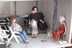 Tarun nuket - Miniature dolls by Taru Astikainen: naiset Miniature Dolls, Miniatures, Mini Things, Mockup