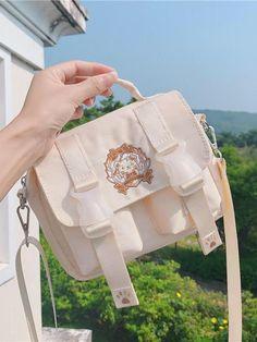 Kawaii Bags, Kawaii Clothes, Mochila Kpop, Style Kawaii, Aesthetic Bags, Aesthetic Backpack, Kawaii Accessories, Accesorios Casual, Cute Backpacks