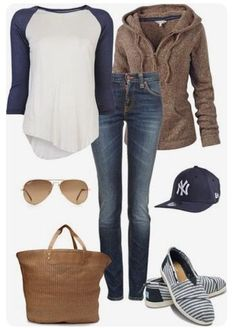 Stitch Fix Fashion 2018! Ask your stylist for something like this in your next fix, delivered right to your door! #sponsored #StitchFix  Baseball tee, hooded sweatshirt, striped espadrilles. Comfy, cute and casual