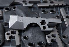 cool keychain tool  Amsler Knives Titanium KC Bottle Defense Tool