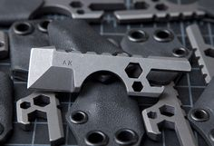 Amsler Knives - Titanium KC Bottle Defense Tool