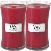 Woodwick Candles.  I love the crisp crackling of the unique wooden wick in these candles.  Burning Icicle Mint for the holidays. PRINTED