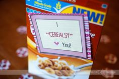 Show a lil love in the morning :)  corie-I cerealsy love you picture main