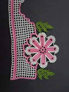 Crochet Flowers, Crochet Lace, Woolen Craft, Diy And Crafts, Crochet Earrings, Knitting, Pattern, How To Make, Jewelry