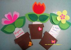 This page has a lot of free mothers day crafts ideas for kıds,preschool,kındergarten. Diy Mother's Day Crafts, Mother's Day Diy, Spring Crafts, Paper Crafts, Mothers Day Flower Pot, Mothers Day Crafts, Cadeau Parents, Art For Kids, Crafts For Kids