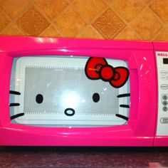 Everyone keeps sending me pictures of this microwave, so I guess that means I should get it! Hubby will just have to deal. :]