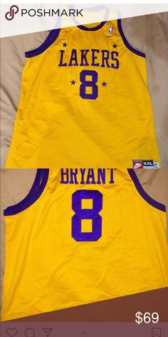 cb94d48bfe79 Vintage lakers Kobe Bryant jersey purple n gold Lakers Kobe Bryant Lebron  James Legend Champions Supreme Hot nike Shirts Tank Tops