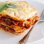Mushroom Lasagna (Vegan + GF)