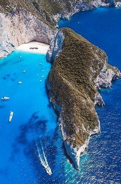 Navagio, Zakynthos Island, Greece   by Aris Katsigiannis #budgetbeachtravel