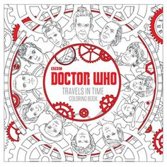 Doctor Who Travels in Time Coloring Book - Penguin Random House - Doctor Who - Books at Entertainment Earth