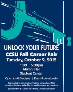 Brush the dust off those resumes and business cards; it's almost time for #CCSU's Fall Career Fair!