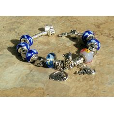 Web Thrift Store:Cat Themed Troll Bead Type Bracelet   all proceeds benefit Col. Potter Cairn Rescue