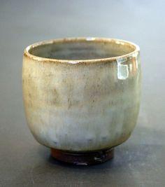 Tea Bowl yunomi.  Wood fired. Birch ash by JohnChristiePottery