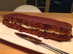 Evas Køkken: Honningkage med appelsin, smørcreme og chokolade Sandwiches, Recipies, Food And Drink, Recipes, Paninis, Cooking Recipes