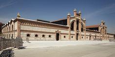 antiguo matadero en sevilla | El Matadero y mercado de ganados de Arguenzela diseñado por Luis ...