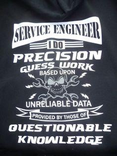 Service Engineer Hoodie Premium Hooded by WhiteWizardPurpleElf