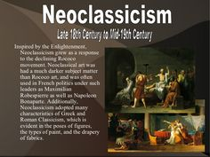 Neoclassicism Late 18th Century to Mid-19th Century…