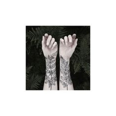Nature Girl From The Forest Temporary Tattoos by The Aviary ($24) ❤ liked on Polyvore featuring accessories, body art and tattoo