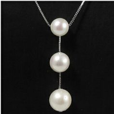 Marilyn - Freshwater Pearl Pendant - Jacqueline Shaw