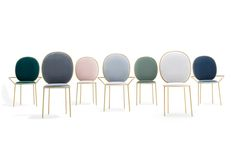 Stay Dining Chairs, Stay Dining Armchairs  - Collection III - Designed by Nika Zupanc for Sé