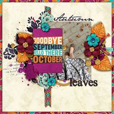 Oct 2015 SSD Bingo Challenge: leaves Layered cards: October templates by Cindy Schneider #believeinmagic: Arabian Nights Collection by Amber Shaw & Studio Flergs
