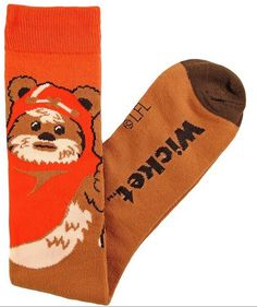 Star Wars Wicket Ewok Junior/Women's Knee High Socks Shoe Size Brown Wicket Ewok, Star Wars Merchandise, Disney Merchandise, Star Wars Gifts, Gamer Gifts, Star Wars Collection, My Socks, Leggings, Tights