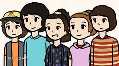 ~🍲Chicken Noodle Soup 🍲 ~ Credits to korychan on IG Stranger Things Girl, Stranger Things Season 3, Stranger Things Netflix, Stranger Things Merchandise, Starnger Things, Stranger Danger, Funny Memes, Hilarious, Cute Drawings