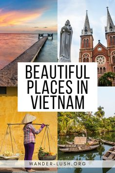 Beautiful Places in Southern Vietnam Five unmissable destinations to add to your Vietnam itinerary. Vietnam Travel Guide, Asia Travel, Japan Travel, Travel Tips, Travel Packing, Travel Guides, Vietnam Vacation, Travel Photographie, Cruise Destinations