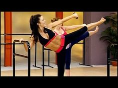 ▶ Cardio Barre: Dancer's Body Workout - YouTube. Need light weights, a chair, and a yoga mat if on a hard surface. Great workout using strength, flexibility, and balance. Side note: the instructor looks like Desiree from the Bachelorette. 38.35