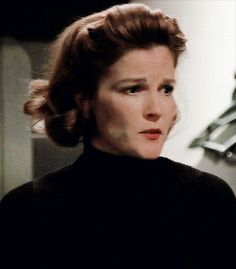 - Janeway All The Way- — mia-cooper: how dare you be so pretty You Are So Pretty, Captain Janeway, Kate Mulgrew, Star Trek Voyager, Love Stars, Her Smile, Gay, Beautiful Women, Actresses