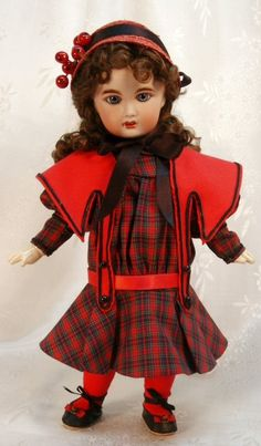 Bleuette pattern for doll clothing Costume by tresbellepoupee