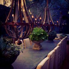Restoration Hardware - outdoor dining