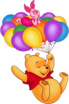 Free Winnie the pooh Graphics. Animated Winnie the pooh Gif Animations. Winnie the pooh Gifs images and Graphics. Winnie the pooh Pictures and Photos. Winne The Pooh, Winnie The Pooh Quotes, Disney Winnie The Pooh, Disney Love, Disney Art, Walt Disney, Disney Collage, Balloon Rides, Pooh Bear