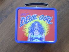 R Crumb 'DEVIL GIRL' Lunch Box Vintage by GeppettoCigarBox on Etsy, $20.00
