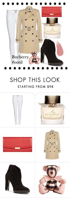 """""""#ootd Burberry edition"""" by victoriakfc on Polyvore featuring Burberry and ootd"""