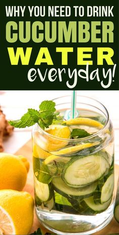 12 Benefits of Cucumber Water: A Healthy Way to Stay Hydrated! -