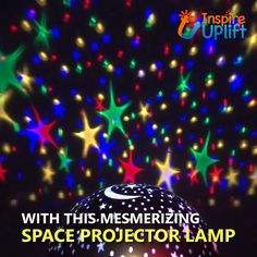 Night Light Projector, Projector Lamp, Home Lighting Design, Cool Lighting, Kids Lighting, Crafts For Girls, Diy And Crafts, Decoration Vitrine, Star Lamp
