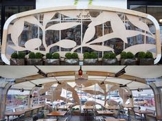 Alvolo pizza restaurant transformed their outdoor terrace in to a cozy dining space using this bespoke 6m AirClad.