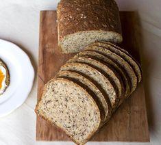 receta pan con semillas Bread Maker Recipes, Pan Bread, Cake Shop, Light Recipes, Sin Gluten, Banana Bread, Vegan Recipes, Food Porn, Good Food