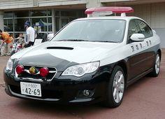 Subaru Legacy - Japanese police