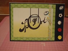 Rugby Card By Claritystamps