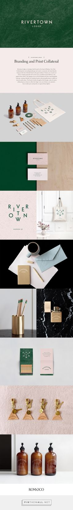 Rivertown Lodge on Behance... - a grouped images picture - Pin Them All